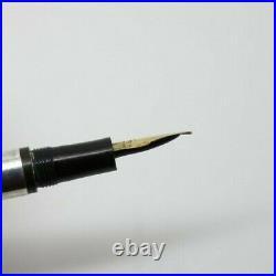 1910 BRIGGS Fountain Pen Sterling Silver Filigree Overlay Super Rare NY Maker