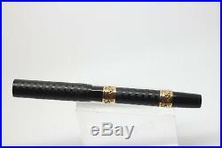 1915-1917 Vintage WATERMAN 14 POC Fountain Pen Gold Bands Eyedropper #4 nib