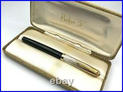 2002 Parker 51 Special Edition Vermeil Sterling Empire State Cap Fountain Pen