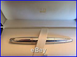 ALFRED DUNHILL Torpedo Sterling Silver Ballpoint Pen w Letter Opener/Cigar Punch