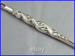 Antique Unger Brothers Sterling Silver Dip Pen Art Nouveau