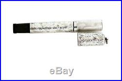 Antique Waterman Ideal 452 1/2 V Double Cap Silver Ring top Safety Fountain pen