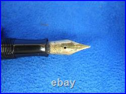 Antique Waterman Ideal Fountain Pen Engraved Sterling 452 1/2V
