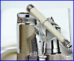 Astonishing Uninked Montblanc Mahatma Ghandi Le Fountain Pen 3000