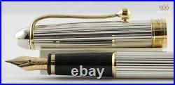 Aurora 88 Ottantotto Silver Linear Regular 816 Fountain Pen Superb And Splendid