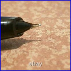 Aurora 88 sterling silver fountain pen 50's excl. Cond. Fine F 14k nib rare pen