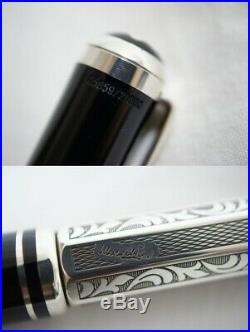 Auth Montblanc Fountain Pen Writers Edition 1999 MARCEL PROUST LIMITED EDITION