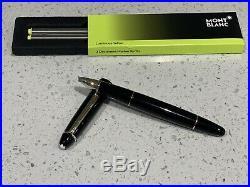 Authentic MontBlanc Meisterstuck no166 Marker Pen / Highlighter + 2 New Refills