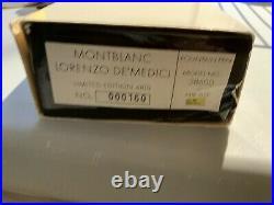 BRAND NEW MONTBLANC Lorenzo De Medici Limited Edition Fountain Pen #160/4810