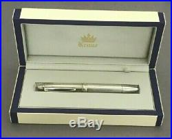 Ballpoint Krone Sterling Silver. 925 Germany Pen with Fitted Case