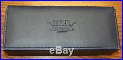 Bossert & Erhard emerald green enameled sterling silver fountain pen 18k nib box