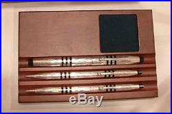 CROSS 150TH LIMITED EDITION PEN STERLING SILVER PEN SET NEW IN BOX no pencil