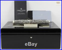 Caran D'ache Se Anniversary Edouard Jud's Sterling Silver Dragon Fountain Pen