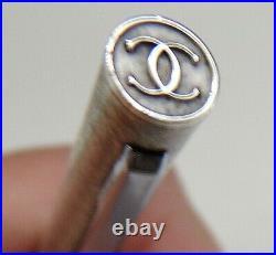Cartier Sterling Silver Signed Mechanical Pen Needs Refill
