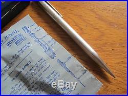 Cased Hallmarked Sterling Silver'yard O Led' Ballpoint Pen 1970