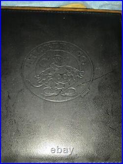 Colibri Mickey Mouse Ltd Ed FP #515 /1928. Sterling silver. 18k/750 Fountain Pen