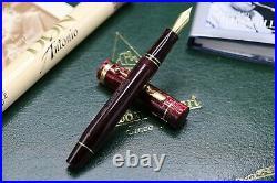 Conway Stewart Churchill Burgundy Blush Limited Edition Fountain Pen