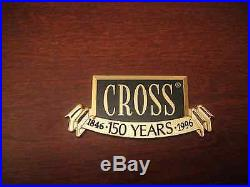 Cross 150th Limited Edition Fountain Pen Sterling Silver New In Box