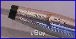 Cross Century Sterling Silver Cartridge Fill Pen-fine point