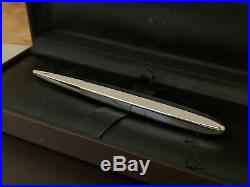 DUNHILL Torpedo Sterling Silver 925 Ballpoint Pen, EXCELLENT