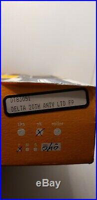 Delta Dolce Vita medium fountain pen 18K fine nib 20 Anniversary