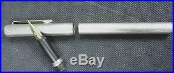 Dunhill Sterling Silver 925 Wave Design Fountain Pen 14K 585 Nib Germany