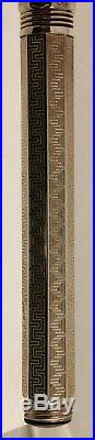ESTATE FIND! Montegrappa Sterling Silver Fountain Pen NICE