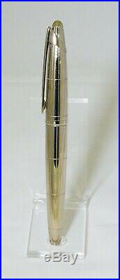 Extremely Rare NOS Sterling Silver Waterman Edson with 18K EF Nib