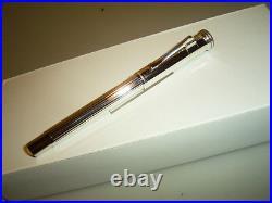FABER CASTELL Classic STERLING SILVER pen! Medium nib