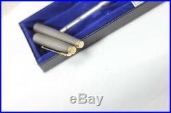 FIRST YEAR Parker 75 Cisele Fountain Pen Metal Threads 14K 66 nib NOS NEW