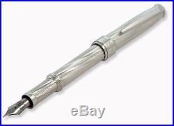 Fountain Pen GAUDI Sterling Silver ITALY New ORIGINAL