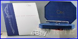 Fountain Pen Omas 50° Unicef Signs For Children Sinopoli 54/300 Complete Box