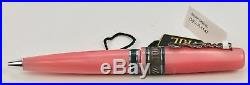 Gevril GEV-R-1147 Special Edition Sterling Silver Pink Rollerball Pen NIB