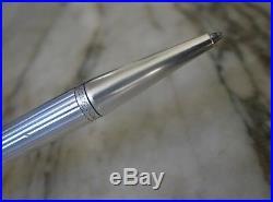 Gorgeous Graf Von Faber-castell Sterling Silver Ball Pen- Godrons Pattern + Box