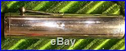 HUGE Waterman 20 420 Sterling Overlay with Sterling Clip-Cap & SUPER FLEX 14K Nib