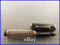 Judd's NEW H. Van Dyke Bexley Parts 14kt. Gold & Sterling Silver Fountain Pen