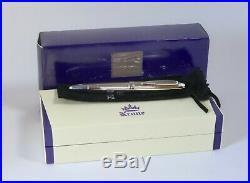 Krone Sterling Silver Fountain Pen 18k M Nib German With Box