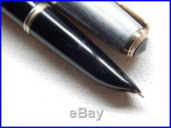Lot #933e. Vintage Parker 51 Fountain Pen. Sterling Silver Cap. Works