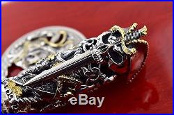MINT Montegrappa Limited Edition #118/399 Pirates Sterling Silver Rollerball Pen
