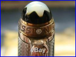 MONTBLANC 75th Anniversary Sterling Silver Rose Gold SOLITAIRE 164 BP
