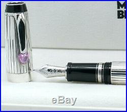 MONTBLANC BOHEME Je t´aime FÜLLER 925er Sterling Silver Herz taime fountain pen