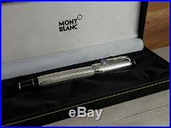 MONTBLANC Boheme Bleu Blue Stone Sterling Silver 925 Rollerball Pen