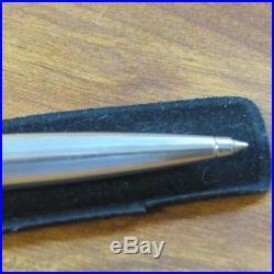 MONTBLANC MEISTERSTUCK 925 STERLING SILVER BALLPOINT PEN Pinstripe Pattern