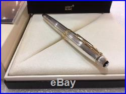 MONTBLANC MST SOLITAIRE STERLING SILVER LeGRAND 146 FOUNTAIN PEN #13837 (F) NIB