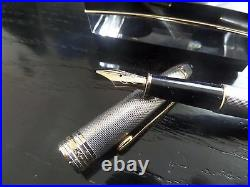 MONTBLANC Meisterstuck SOLITAIRE 144 BARLEY STERLING SILVER FP