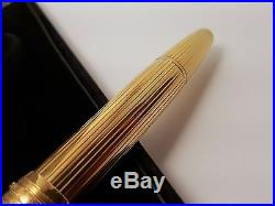 MONTBLANC Meisterstuck Solitaire 146 Sterling Silver 925 18K NIB Fountain Pen