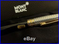 MONTBLANC Meisterstuck Solitaire Doue Sterling Silver 164 Ballpoint Pen