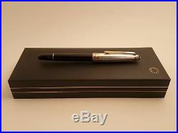 MONTBLANC Meisterstuck Solitaire Doue Sterling Silver 925 163 Rollerball Pen