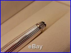 MONTBLANC Meisterstuck Solitaire Sterling Silver 925 164 Ballpoint Pen, NOS