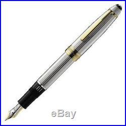 MONTBLANC Solitaire Sterling Silver LeGrand Füllfederhalter/Fountain Pen, NEU